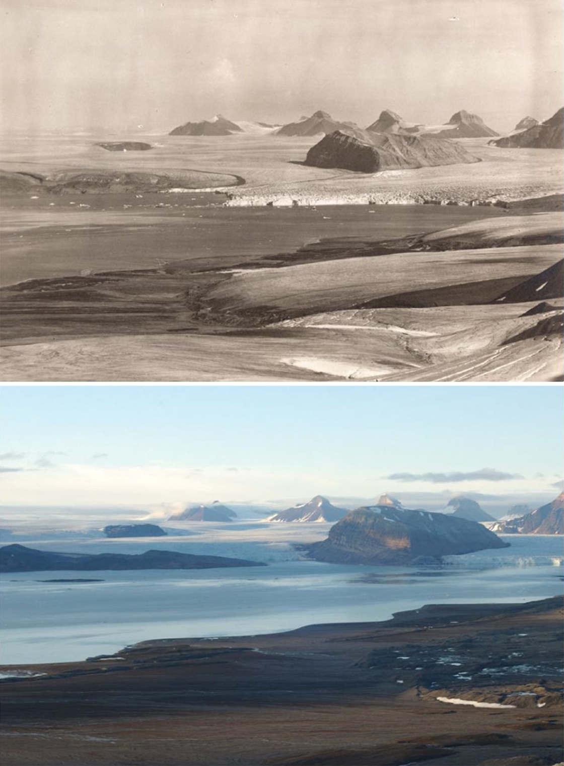 Visualizing the alarming decline of glaciers