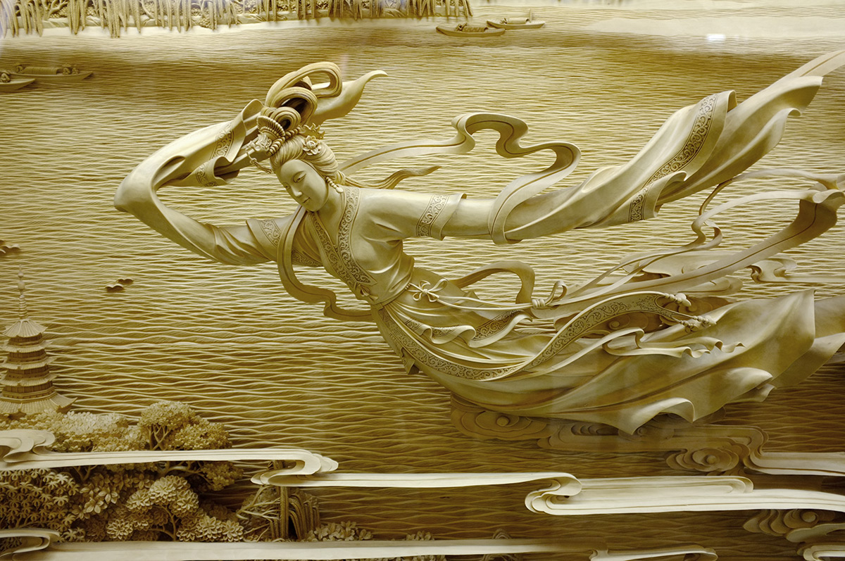 The Exquisite Detail of Traditional Chinese Dongyang Wood Carving (9 pics)