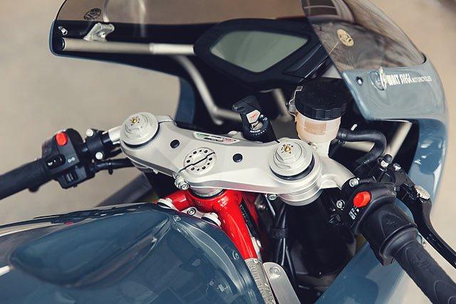 Walt Siegl Motorcycles: кастом MV Agusta F3 Bol d'Or