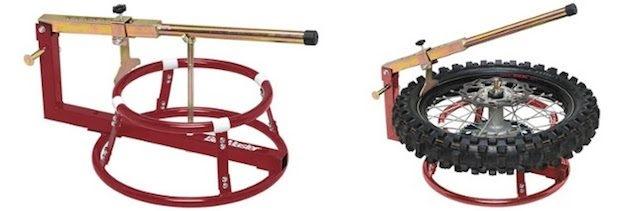 Приспособление BikeMaster для бортировки колес