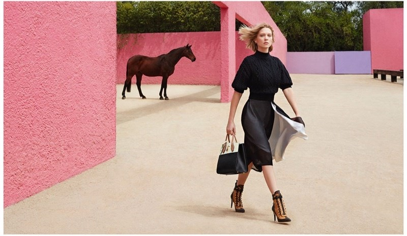 Lea Seydoux for Louis Vuitton Ad Campaign 3