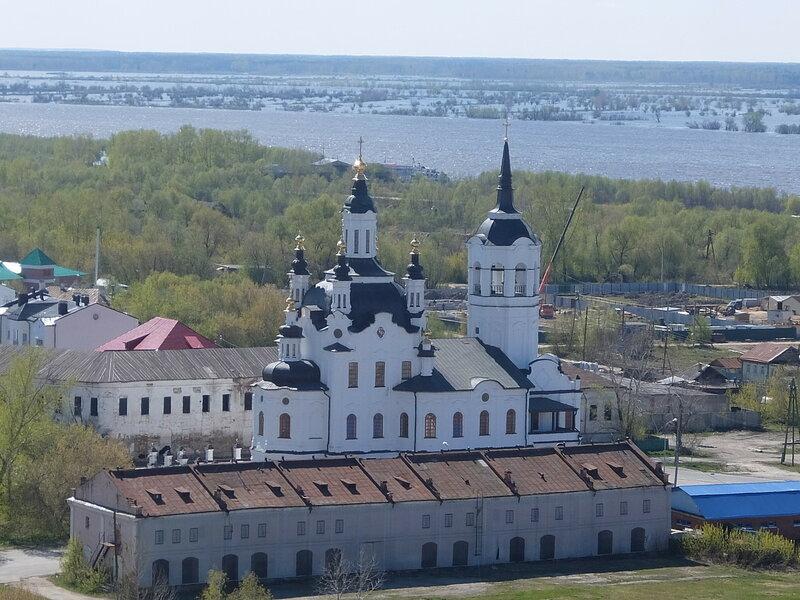 Тобольский Кремль - Вид на Иртыш