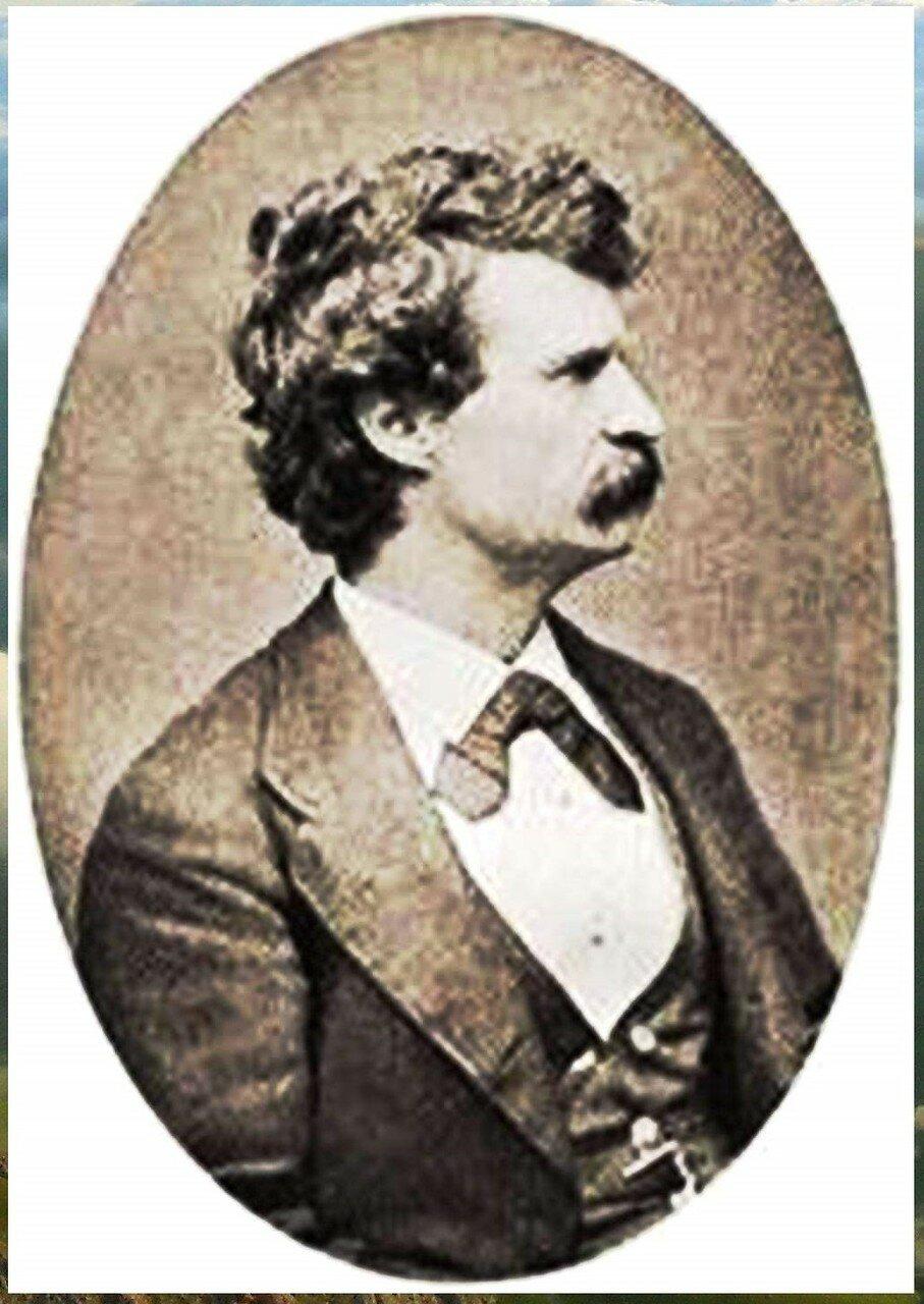 Марк Твен. Mark Twain young 2.JPG