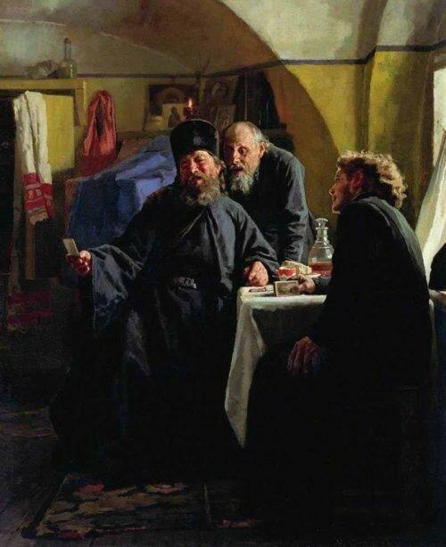 Монахи.1880 Государственный музей-заповедник Ростовский Кремль