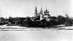 Церкви Благовещения (более известная как Никольская) и Рождества Богородицы