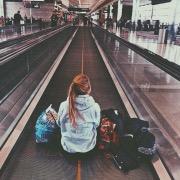 С багажом