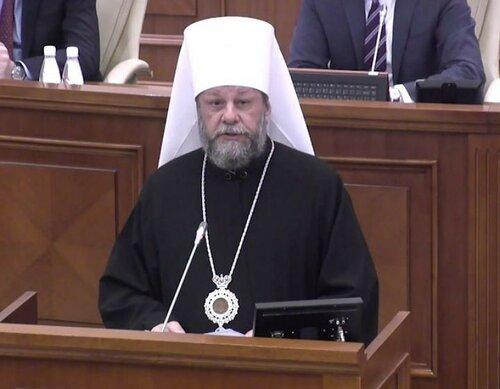 Митрополит Молдовы Владимир поздравил христиан с Рождеством
