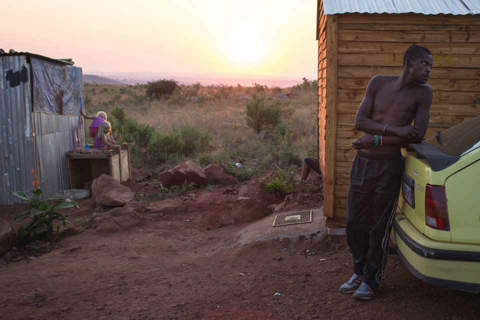 Life Of A Poor White Community Living In Johannesburg