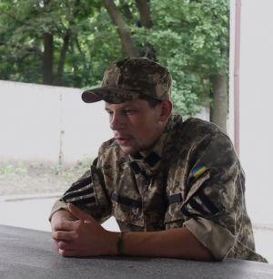 Воин ПС после тяжелого ранения вернулся на войну (ВИДЕО)
