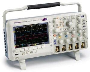 Осциллограф цифровой DPO2014B  . Внешний вид