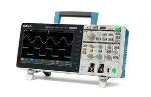 Цифровой осциллограф TBS2102 - Вид в изометрии