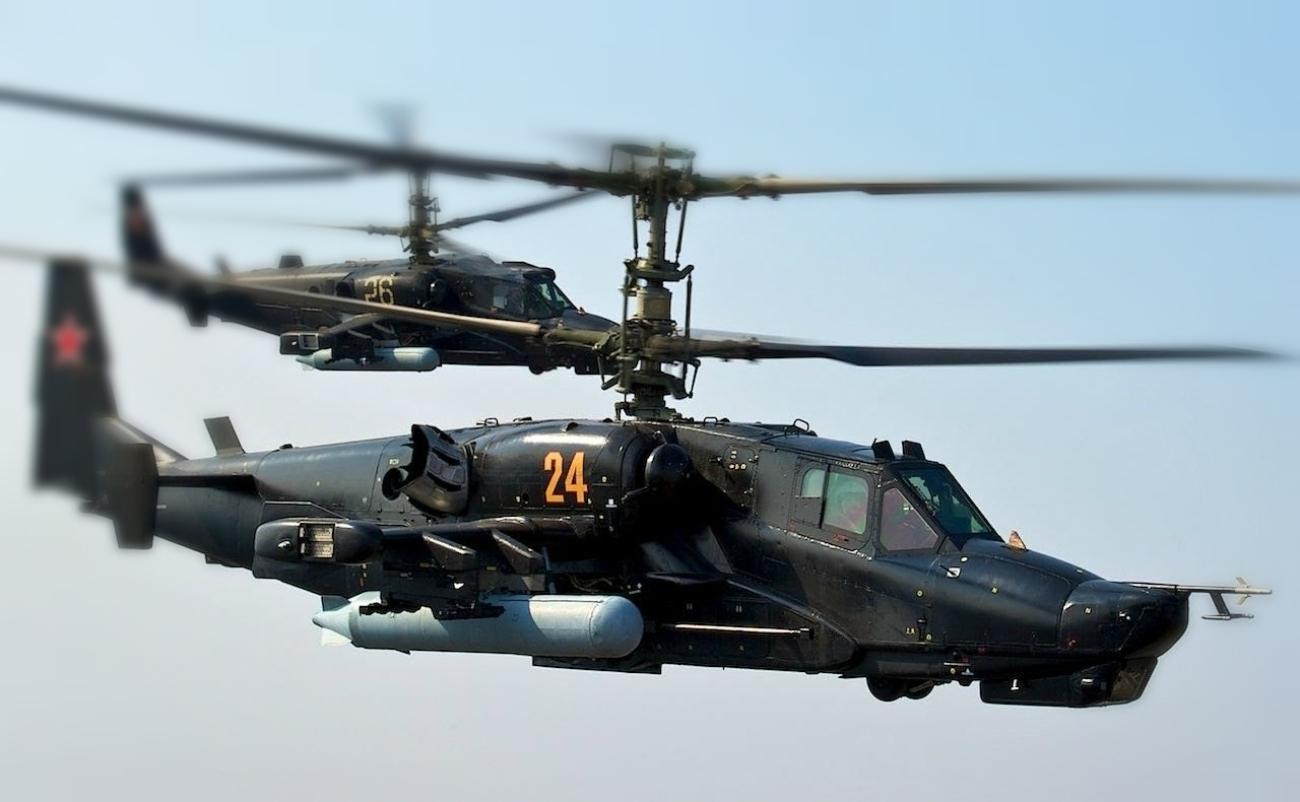 современная защита вертолета