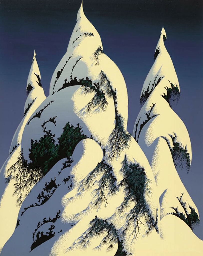 Snow Trees, 1986.jpg