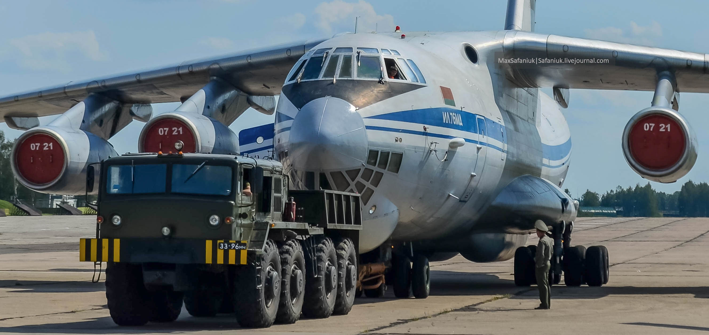 Буксировка Ил-76МД (мачулищи)