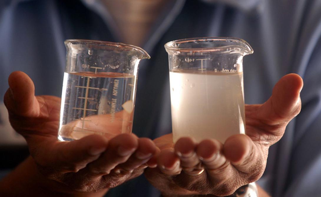 Почему морскую воду вредно пить (5 фото)