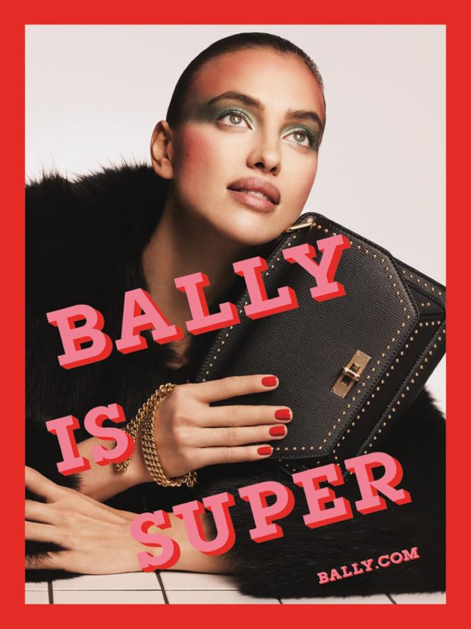 Рекламная кампания Bally (4 фото)