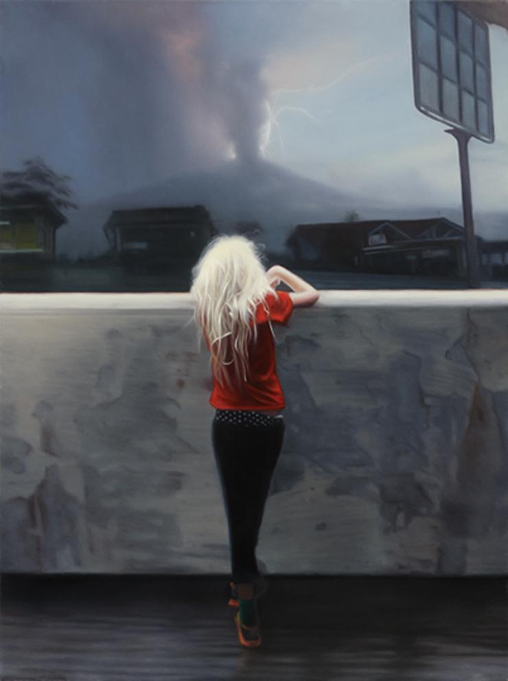 Спиной к реальности: живопись Симуса Конли