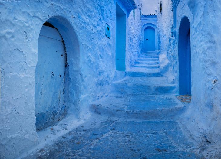 Большое путешествие по Марокко: город-облако Шефшауэн (32 фото)