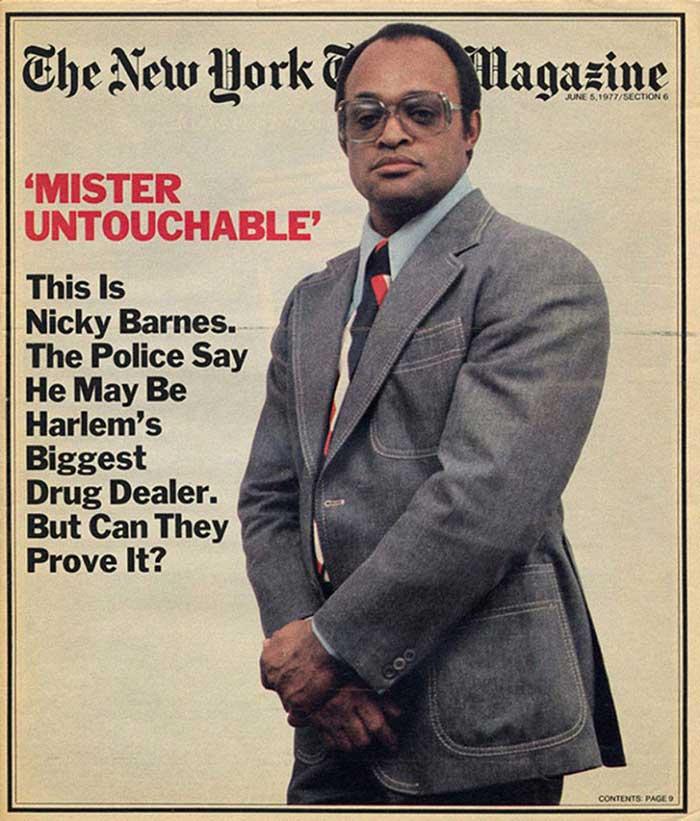 Воплощение сверхнаглости: история нью-йоркского наркобарона по кличке Мистер Неприкасаемый (15 фото) 18+