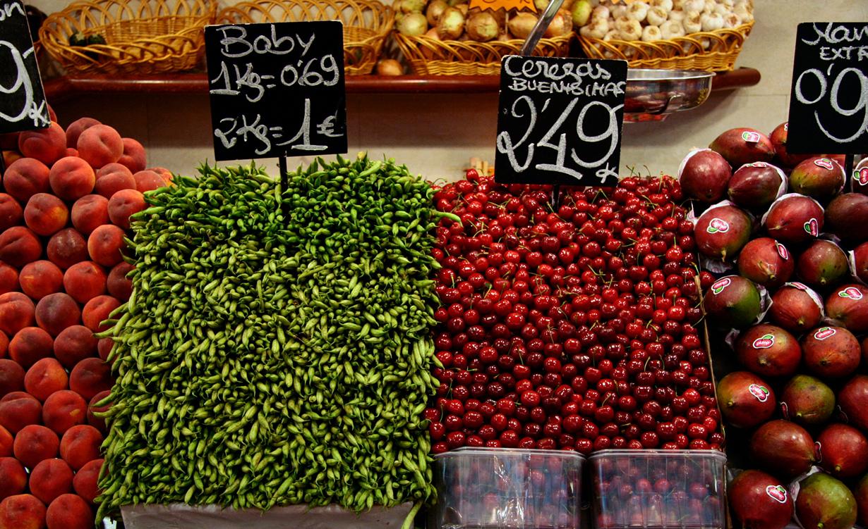 История рынка берёт своё начало с 1217 года. На сегодняшний день общая площадь его торгового про
