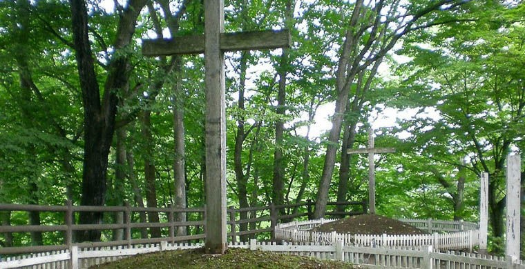 4. Могила Иисуса Христа в селе Синго В Японии есть довольно странное для большинства христиан место: