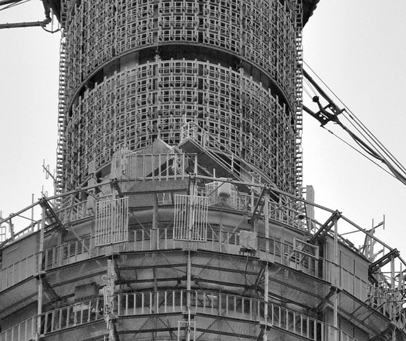 18 кадров о том, как строили Останкинскую башню (18 фото)