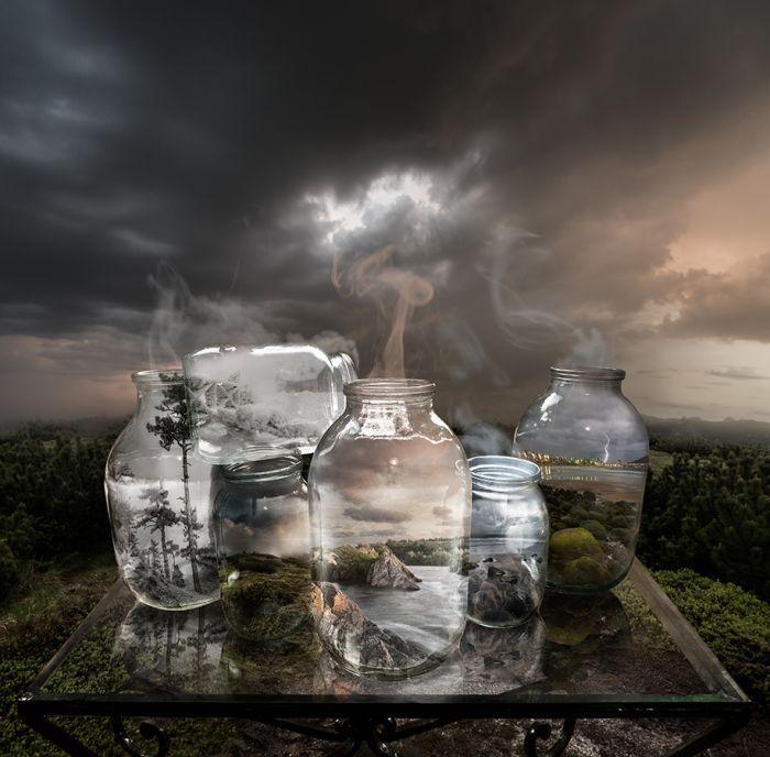 Противоречивые сюрреалистические работы фотохудожника Михаила Батрака