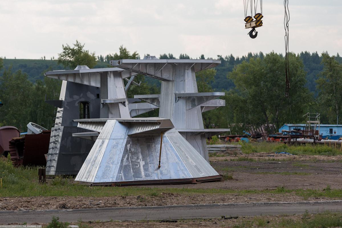 Надстройки сторожевых кораблей «Гепард», изготовленные из алюминиево-магниевых сплавов для обеспечен