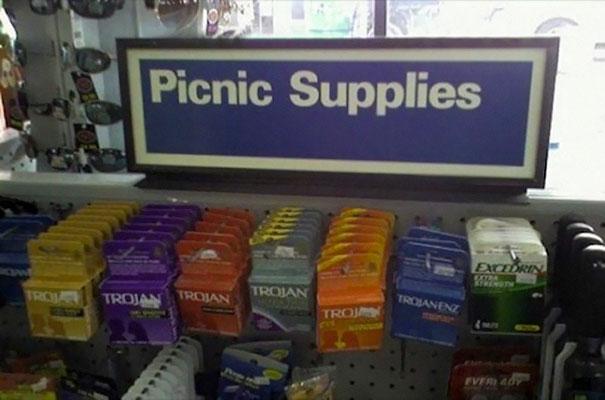 Да уж, неплохо было бы запастись перед пикником.