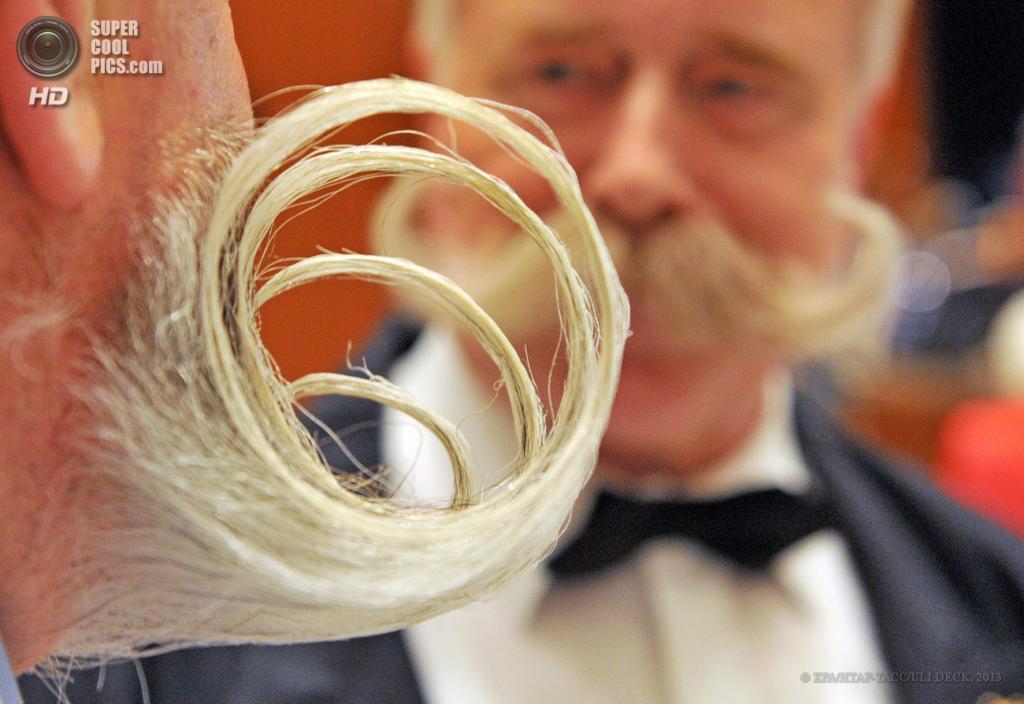 Лица международного чемпионата усов и бород в Германии
