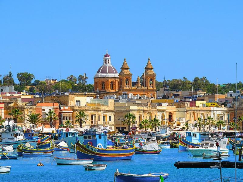 Самые красивые деревни и маленькие города Европы: Марсашлокк, Мальта