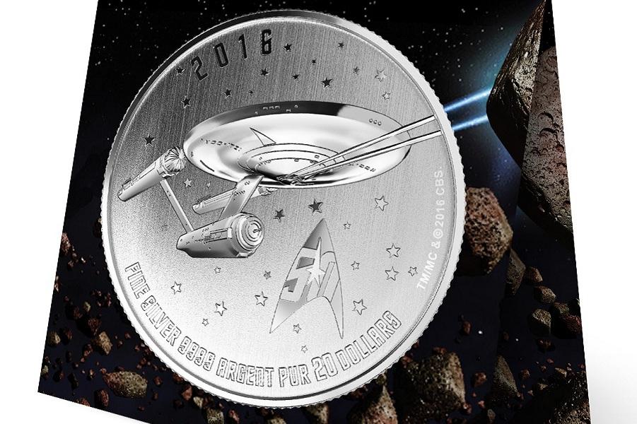 """""""Звездный путь"""". Монеты Канады"""