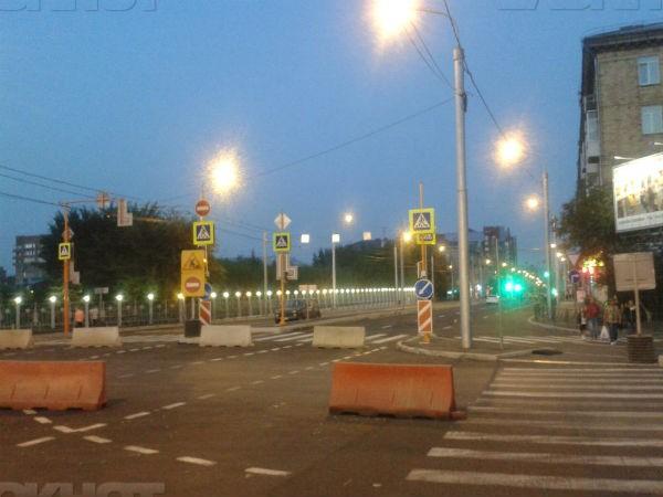 ВКрасноярске с14августа частично перекроют проспект Свободный