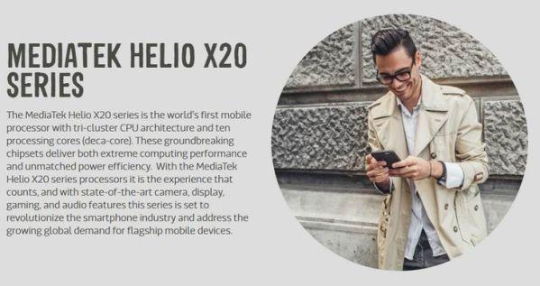 MediaTek представила однокристальные системы Helio X23 иHelio X27