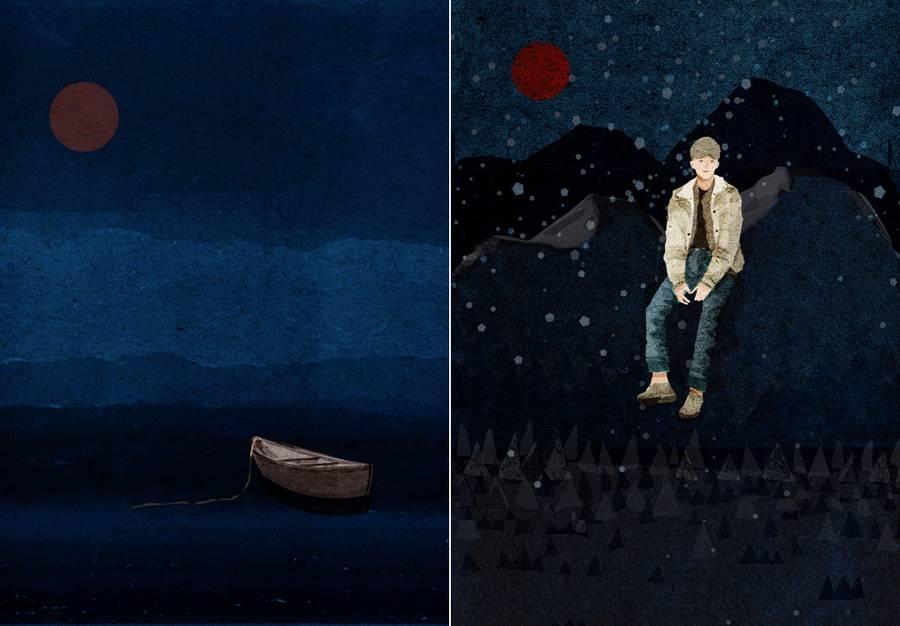 Poetic Illustrations of a Night (7 pics)