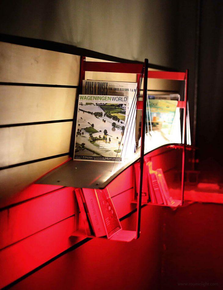 Light Bridge Bookshelf by Roumelight