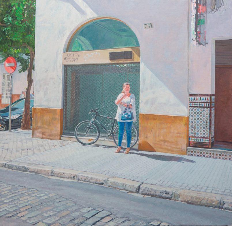 Pleasant Urban Scenes by Reyes De La Flor