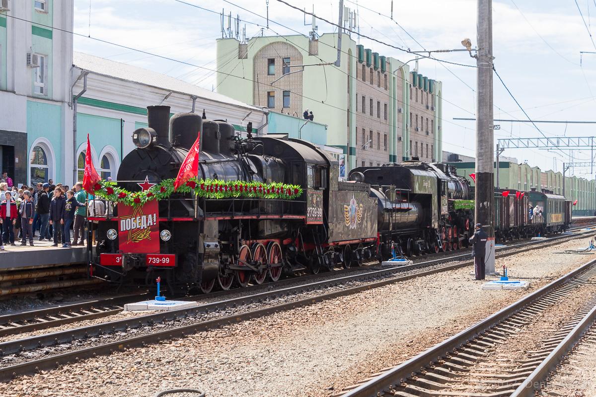 Ретро-поезд Победа фото 23