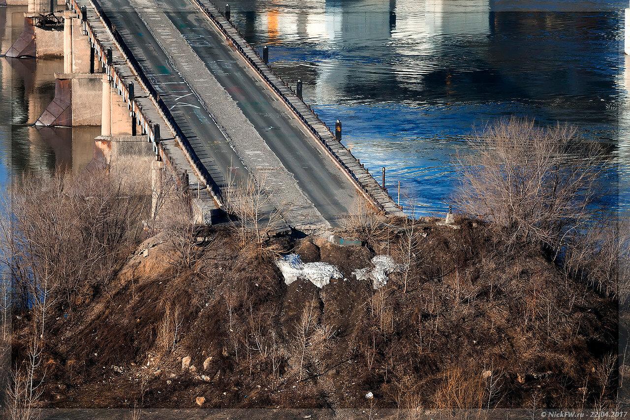 Старый Кузнецкий мост - правый берег (© NickFW - 22.04.2017)