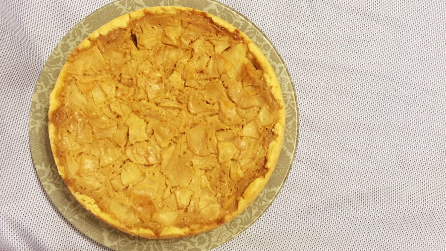 Цветаевский яблочный пирог в мультиварке