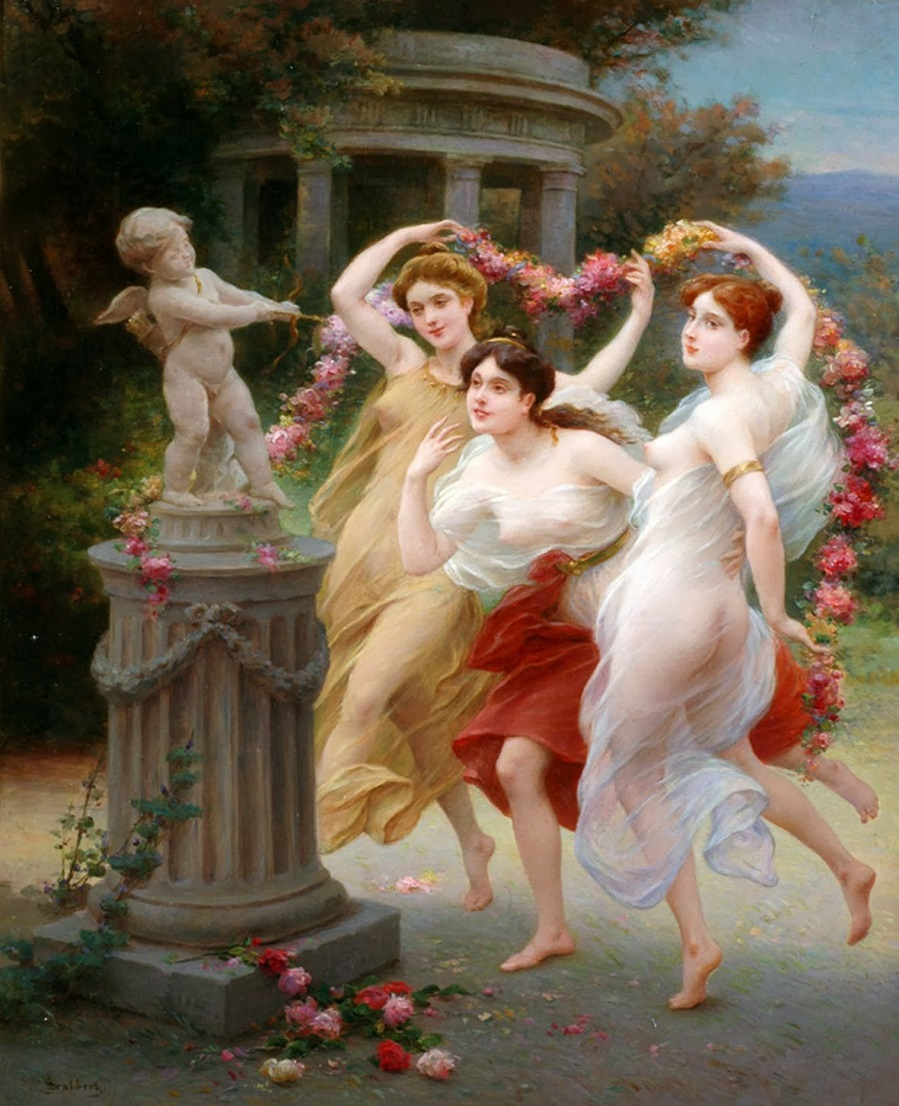 Amor And Three Graces