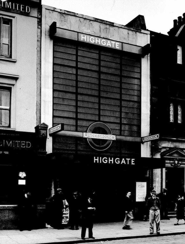 1932. Станция «Хайгэйт». Апрель