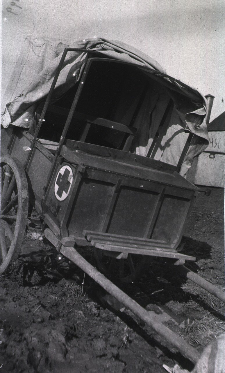 Финский фургон скорой помощи. Харбин