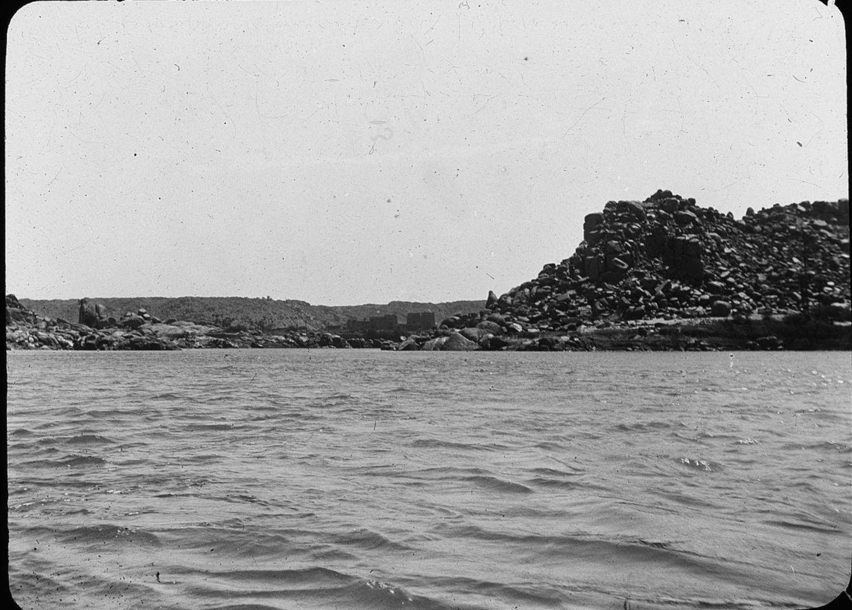 Прибытие на острове Филе
