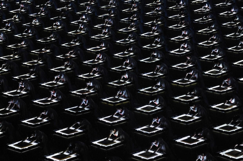 Китайское «искусство толпы»