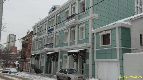 Зимний Ростов-на-Дону в новогоднем убранстве