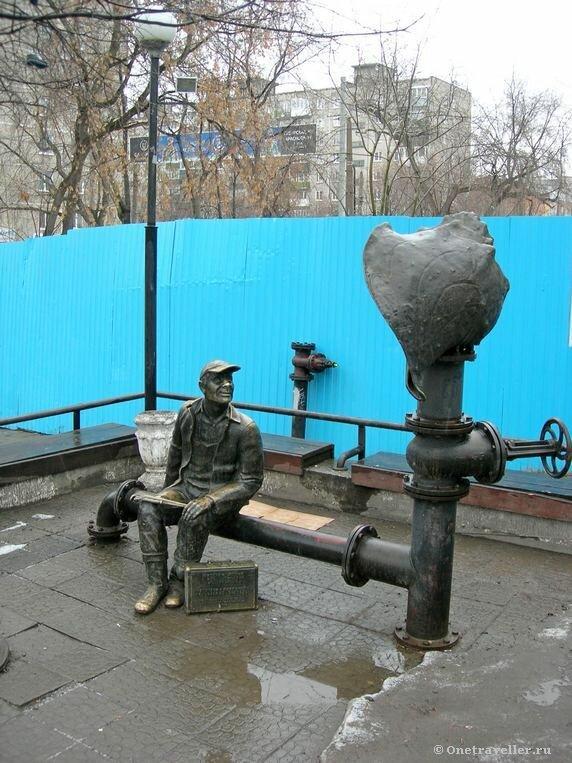 Пермь. Памятник водопроводчику