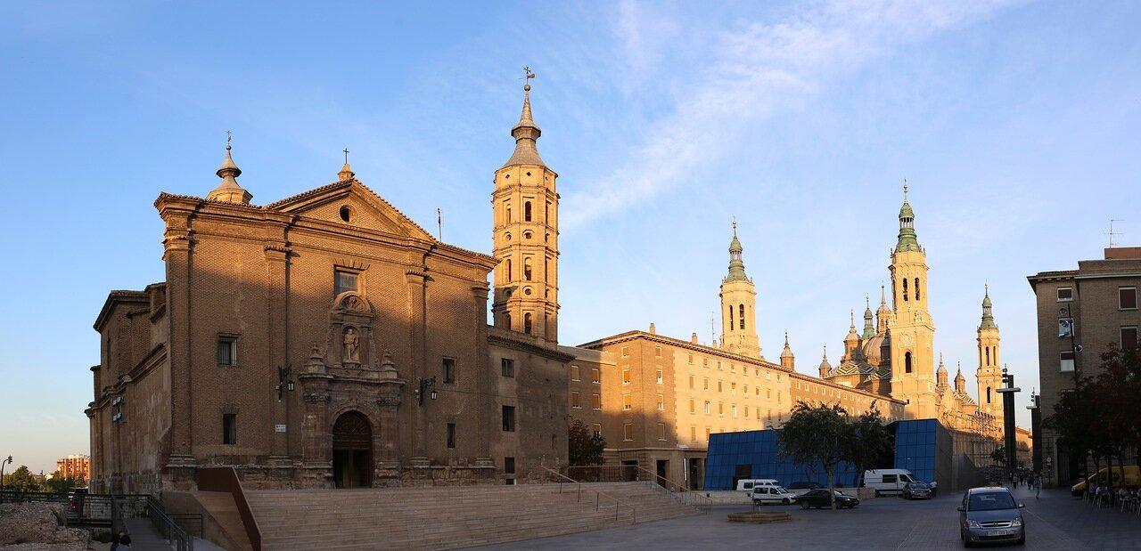 Сарагоса. Церковь Святого Иоанна (Iglesia de San Juan de los Panetes)