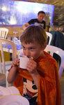 Weird cafe, happy Slavik