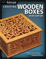 Книга Creating Wooden Boxes on the Scroll Saw